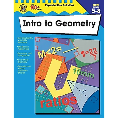 Instructional Fair Intro to Geometry Resource Book