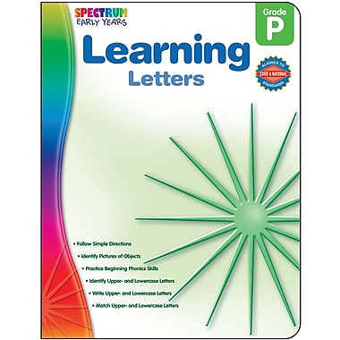 Spectrum Learning Letters Workbook