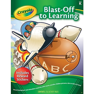 Crayola Blast-Off to Learning Activity Book