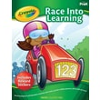 Crayola Race Into Learning Activity Book