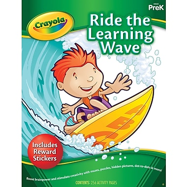Crayola Ride the Learning Wave Activity Book