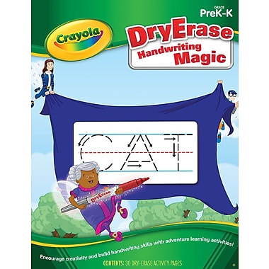 Crayola Handwriting Magic Activity Book