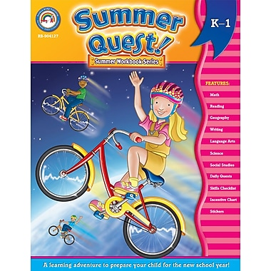 Summer Quest™ Workbook, Grades K - 1