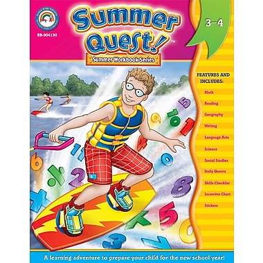 Summer Quest™ Workbook, Grades 3 - 4
