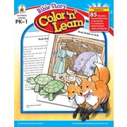 Carson-Dellosa Bible Story Color 'n' Learn! Resource Book