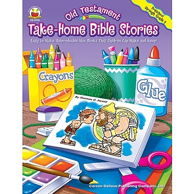 Carson-Dellosa Old Testament Take-Home Bible Stories Resource Book