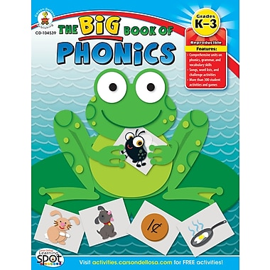 Carson-Dellosa The Big Book of Phonics Resource Book