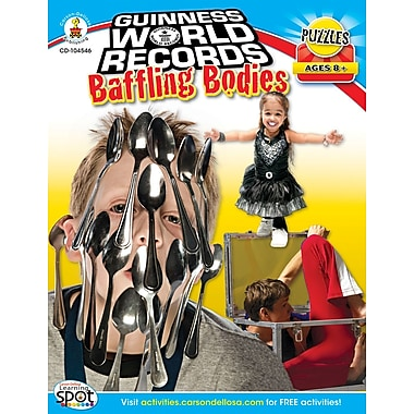 Carson-Dellosa Guinness World Records® Baffling Bodies Workbook
