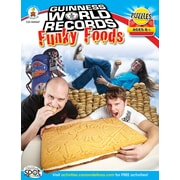Carson-Dellosa Guinness World Records® Funky Foods Workbook