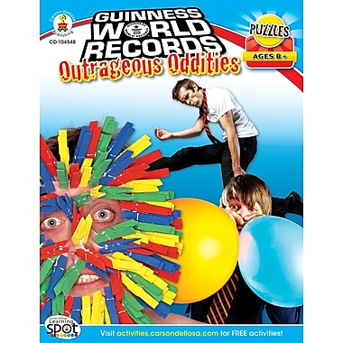 Carson-Dellosa Guinness World Records® Outrageous Oddities Workbook