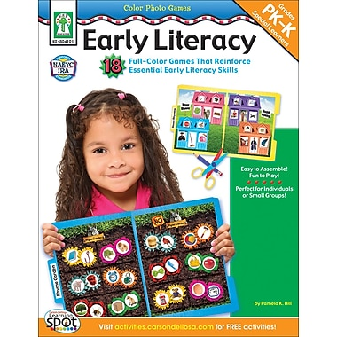 Key Education Color Photo Games: Early Literacy Resource Book