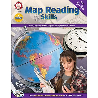 Mark Twain Map Reading Skills Resource Book