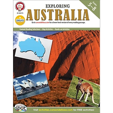 Mark Twain Exploring Australia Resource Book, Grades 5 - 8