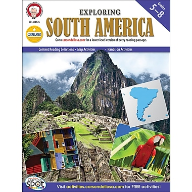 Mark Twain Exploring South America Resource Book, Grades 5 - 8