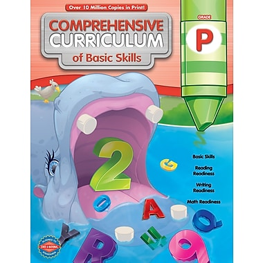 American Education Comprehensive Curriculum of Basic Skills Workbook, Grade PK