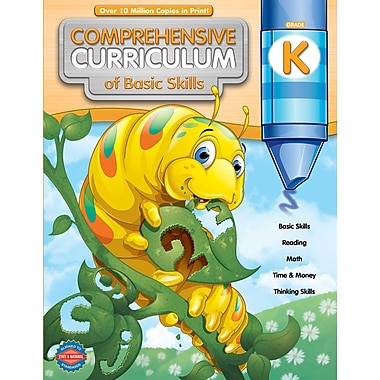 American Education Comprehensive Curriculum of Basic Skills Workbook, Grade K