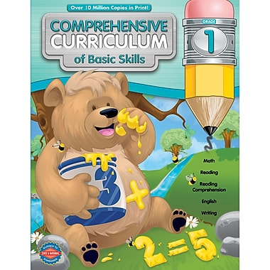 American Education Comprehensive Curriculum of Basic Skills Workbook, Grade 1
