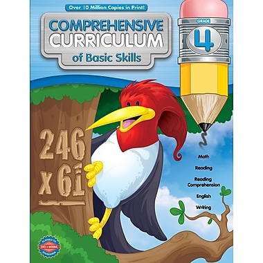 American Education Comprehensive Curriculum of Basic Skills Workbook, Grade 4