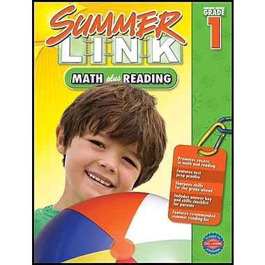 American Education Math Plus Reading Workbook, Grades K - 1