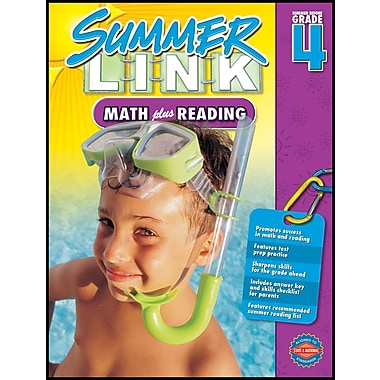 American Education Math Plus Reading Workbook, Grades 3 - 4