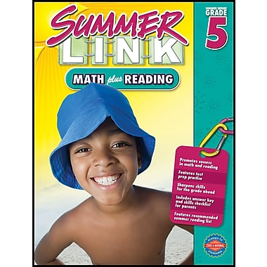 American Education Math Plus Reading Workbook, Grades 4 - 5