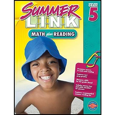 American Education Math Plus Reading Workbook, Grades 4 - 5