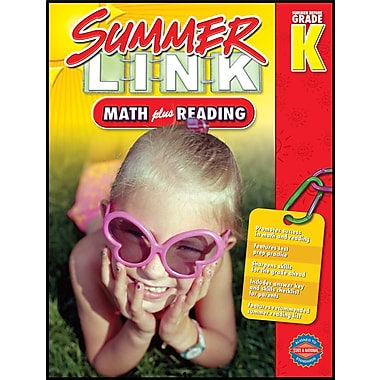 American Education Math Plus Reading Workbook, Grades PK - K