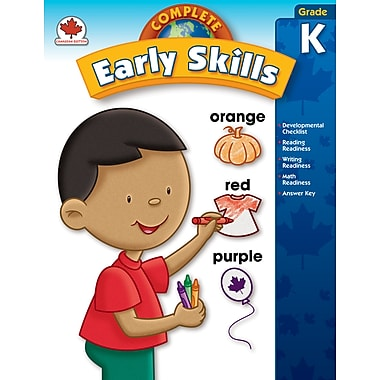 Carson-Dellosa Complete Early Skills Workbook, Grade K