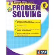 Frank Schaffer Step-by-Step Problem Solving Resource Book, Grade 2