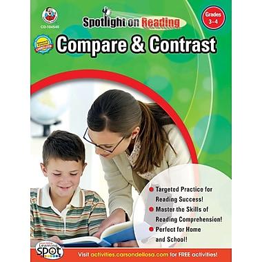 Frank Schaffer Compare & Contrast Resource Book, Grades 3 - 4