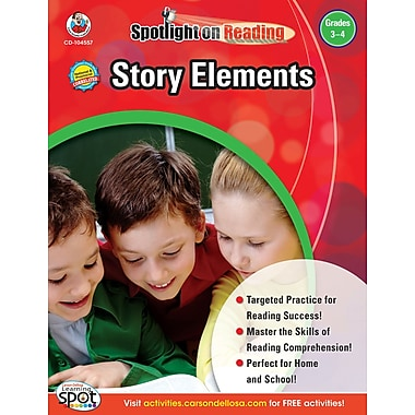 Frank Schaffer Story Elements Resource Book, Grades 3 - 4