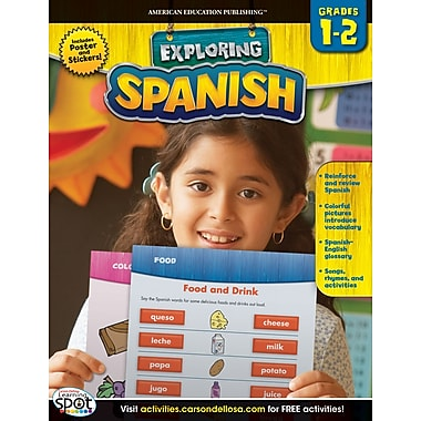 American Education Spanish Workbook