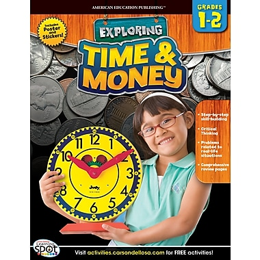 American Education Time & Money Workbook