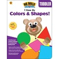 Brighter Child I Know My Colors & Shapes! Workbook, 80 Pages