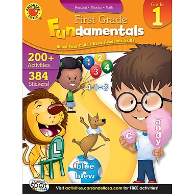Brighter Child First Grade Fundamentals Workbook