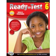 American Education Ready to Test Workbook, Grade 6