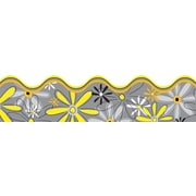 "Carson-Dellosa Publishing 108079 3' x 2.25"" Scalloped Floral Delightful Daisies Borders, Multicolor"