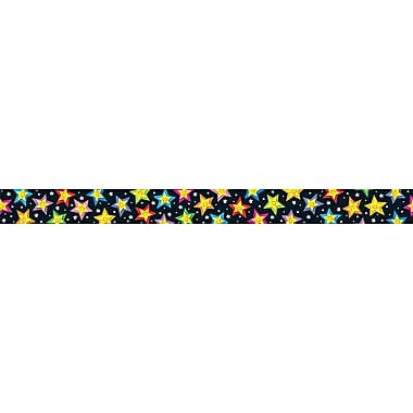 Carson-Dellosa Stars Borders, (12) 3' x 3in. Strips