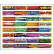 """Carson-Dellosa Publishing Mark Twain Media 408003 3' x 3"""" Straight Scientific Inquiry Vocabulary Words Border, Multicolor"""