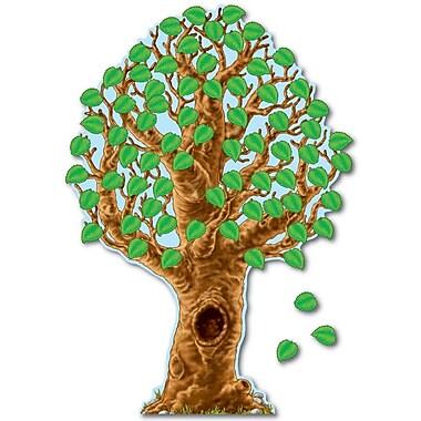 Carson-Dellosa Publishing 110007 Big Realistic Tree Bulletin Board Set
