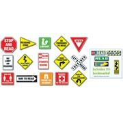 Carson-Dellosa Reading Road Signs Bulletin Board Set