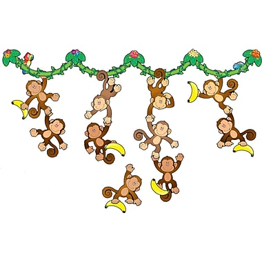 Carson-Dellosa Monkey Bulletin Board Set