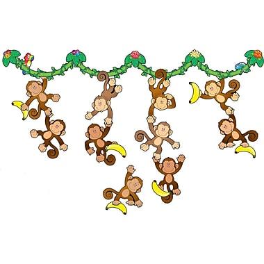 Carson-Dellosa Monkey Bulletin Board Set