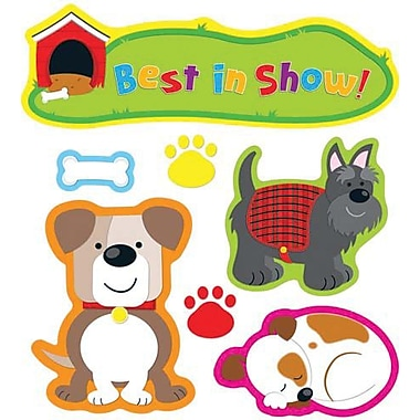 Carson-Dellosa Darling Dogs Bulletin Board Set