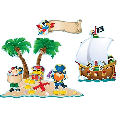 Carson-Dellosa Pirates Bulletin Board Set