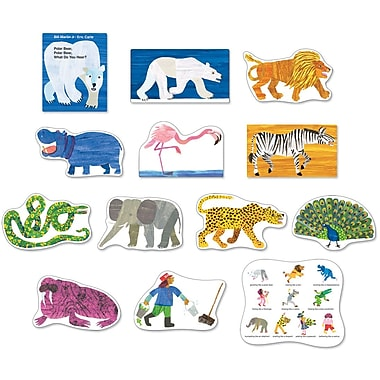 Carson-Dellosa Polar Bear, Polar Bear, What Do You Hear? Bulletin Board Set