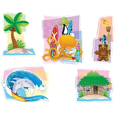Carson-Dellosa Surfing Bulletin Board Set