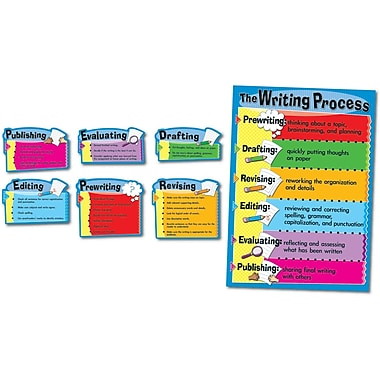 Carson-Dellosa The Writing Process Bulletin Board Set