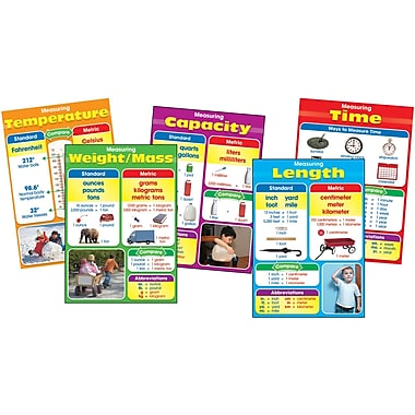 Carson-Dellosa Photographic Measurement Bulletin Board Set