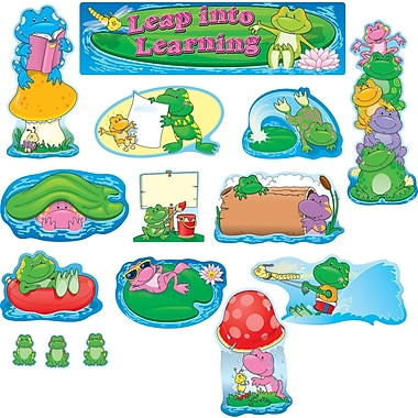 Carson-Dellosa Frogs Bulletin Board Set